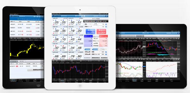 ヒロセ通商 LION FX For iPad