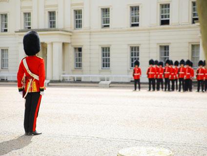 イギリスの兵隊
