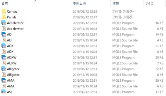 「FXmt日本時間」ファイルだけをドラック&ドロップで入れる