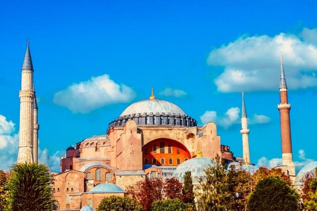 トルコのアヤソフィア