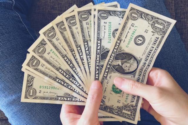 ドルのお札