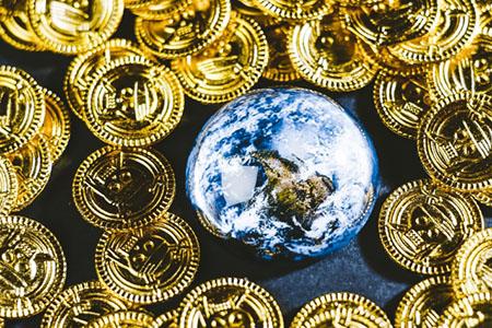 コインと地球