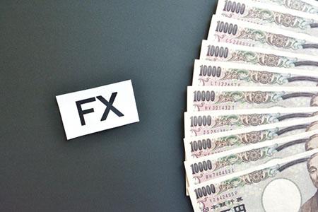 FXと札束