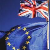 英国とEUの国旗