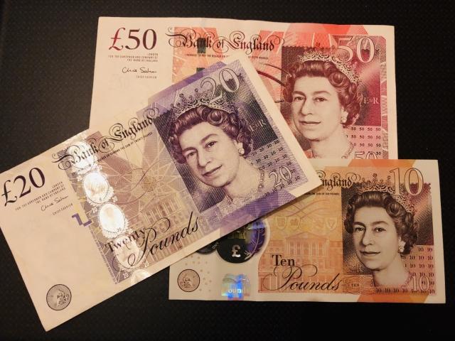 ポンド紙幣