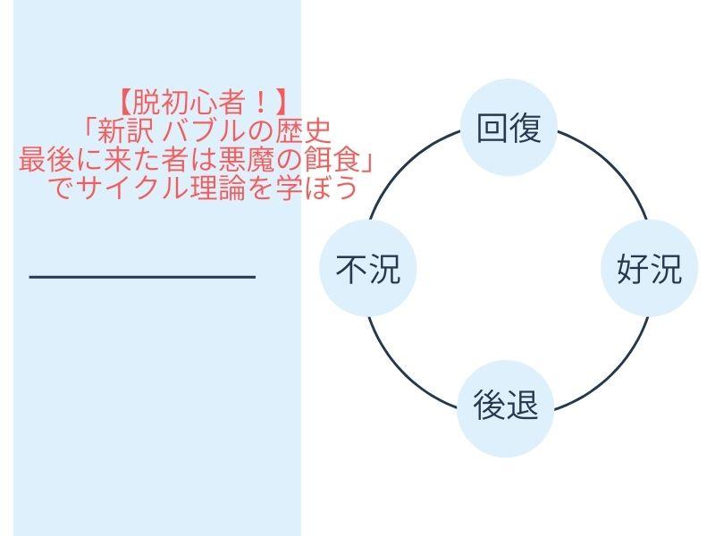 【脱初心者!】「新訳 バブルの歴史 最後に来た者は悪魔の餌食」でサイクル理論を学ぼう