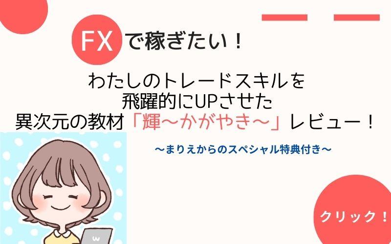 FXぷーさん式トレードマニュアル「輝」