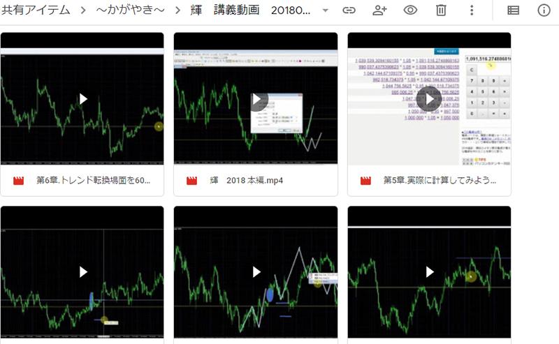Googleドライブにアップロードされている動画とPDF