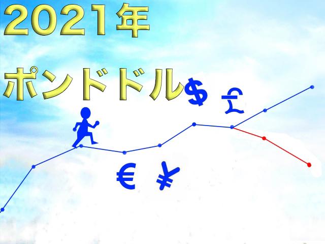 2021年ポンドドル
