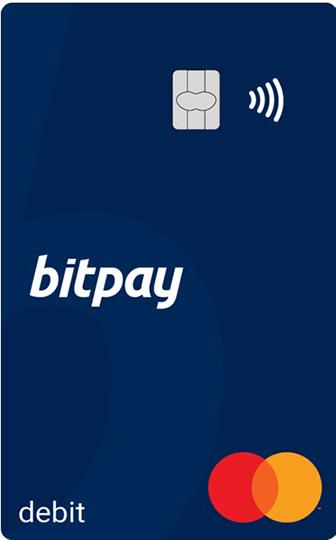bitpayのデビットカード